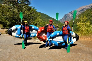 Kayak raft Ubaye