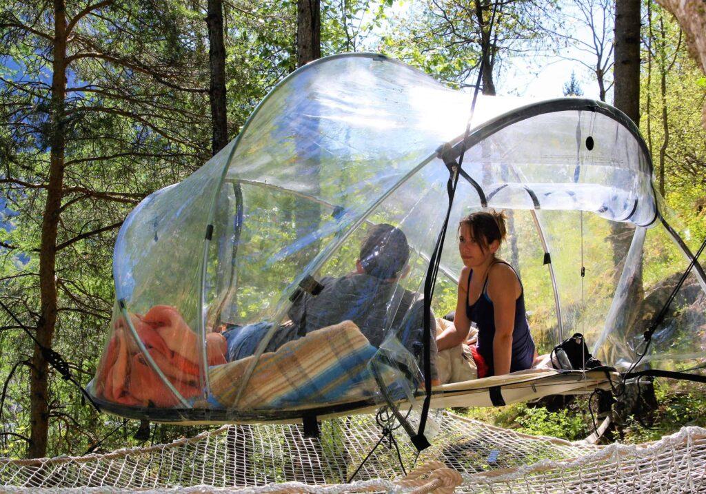 dormir en bulle