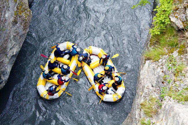 rafting Ubaye Pra Loup