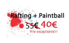 rafting paintball pour 40 euros
