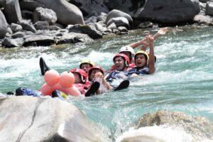 Rafting Barcelonnette EVG