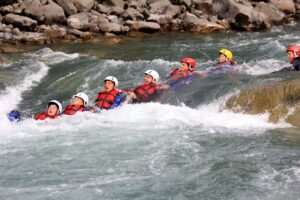 Rafting à Barcelonnettte CE