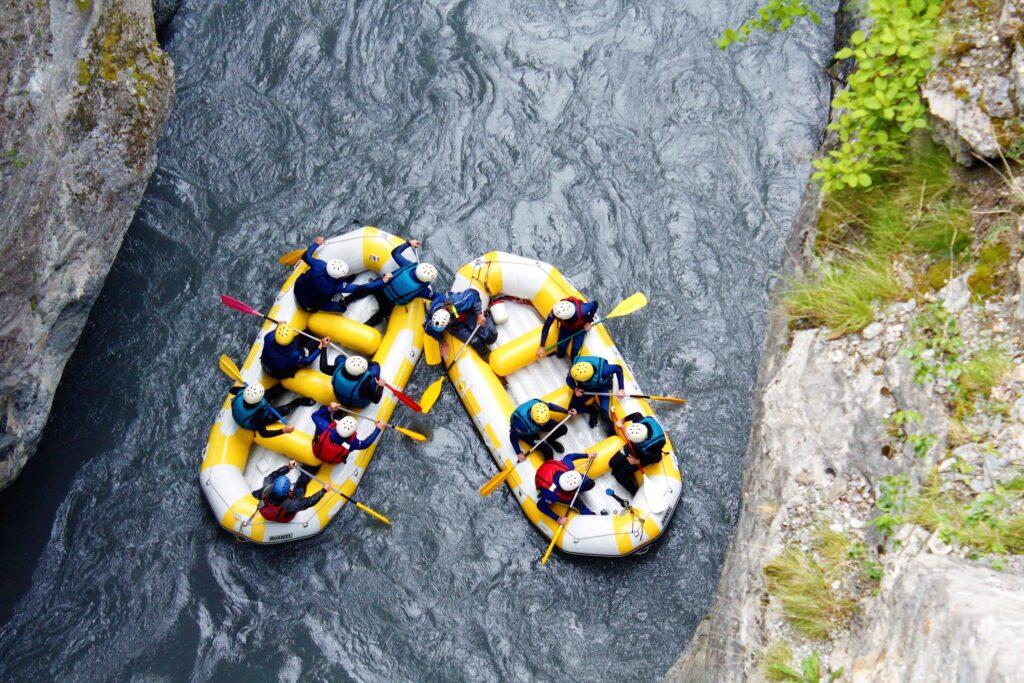 rafting Pra Loup